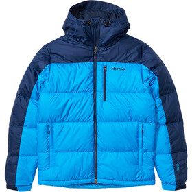 Marmot Guides Down Hoody Herre clear blue/arctic navy